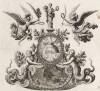 Аллегорическая сцена (из Biblisches Engel- und Kunstwerk -- шедевра германского барокко. Гравировал неподражаемый Иоганн Ульрих Краусс в Аугсбурге в 1694 году)
