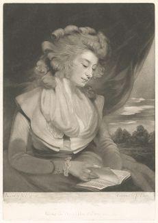 Эмилия Бучерет (?-1837) в образе Джулии де Рубинье.