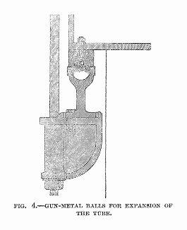Разрез, иллюстрирующий соединение элементов металлической тубы железнодорожного моста через реку Конвей в Уэльсе, построенного в 1848 году британским инженером Робертом Стивенсоном (1803 -- 1859) (The Illustrated London News №307 от 11/03/1848 г.)