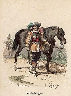 Солдат легкой кавалерии 1610-1640 гг.