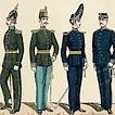 1814–1910 гг. Шведский мундир
