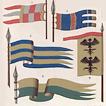 Средневековые знамёна