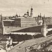Видъ съ Храма Христа Спасителя въ 1867 году