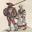 Военный костюм XV–XVII вв.