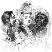 """1792–1793 гг. """"Ужин в Бокере"""" и взятие Тулона"""