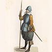 Военный костюм XVI–XVII вв.