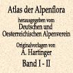 Антон Хартингер. Альпийская флора. Том I–II. 1897 год