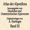 Антон Хартингер. Альпийская флора. Том III. 1897 год