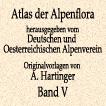 Антон Хартингер. Альпийская флора. Том V. 1897 год